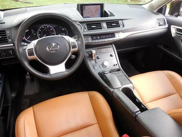 Fs 2013 Black Lexus Ct200h With Premium Hd Navigation