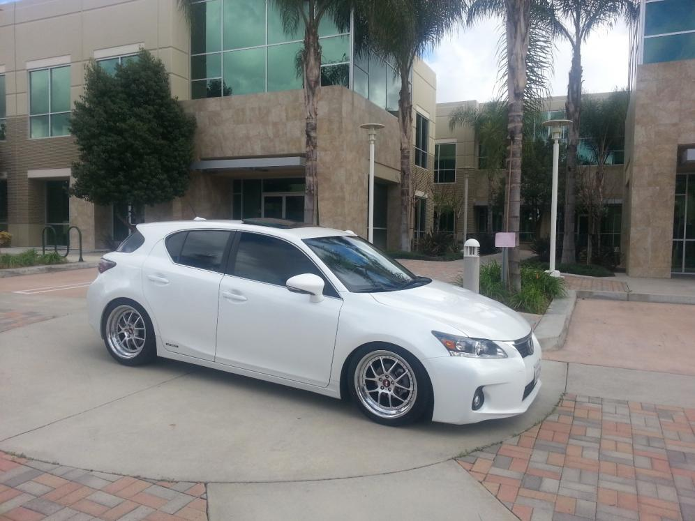 Lexus Ct200h Used >> Used Megan Coil overs and DY rims for CT200h