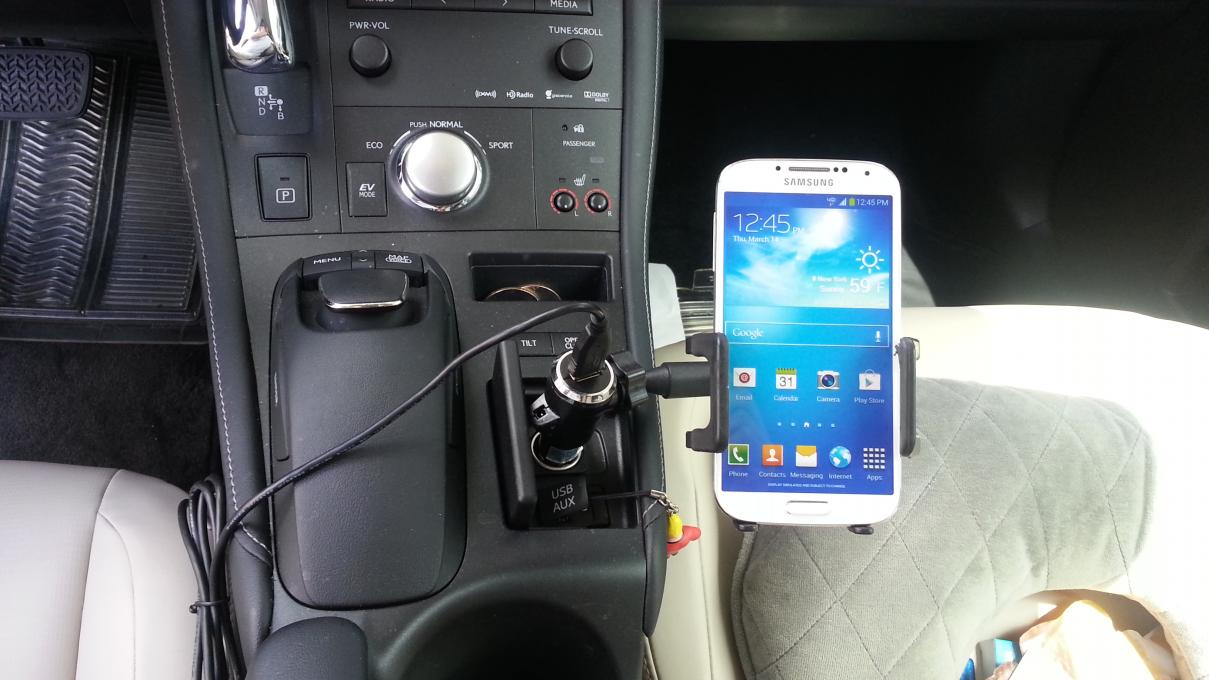perfect phone holder for CT 200-20130803_141635.jpg