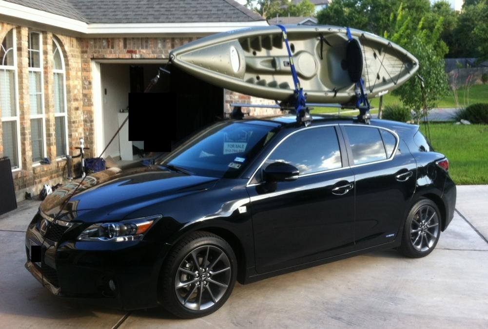 New Thule Roof Rack   Pic Frontleftkayakloaded2