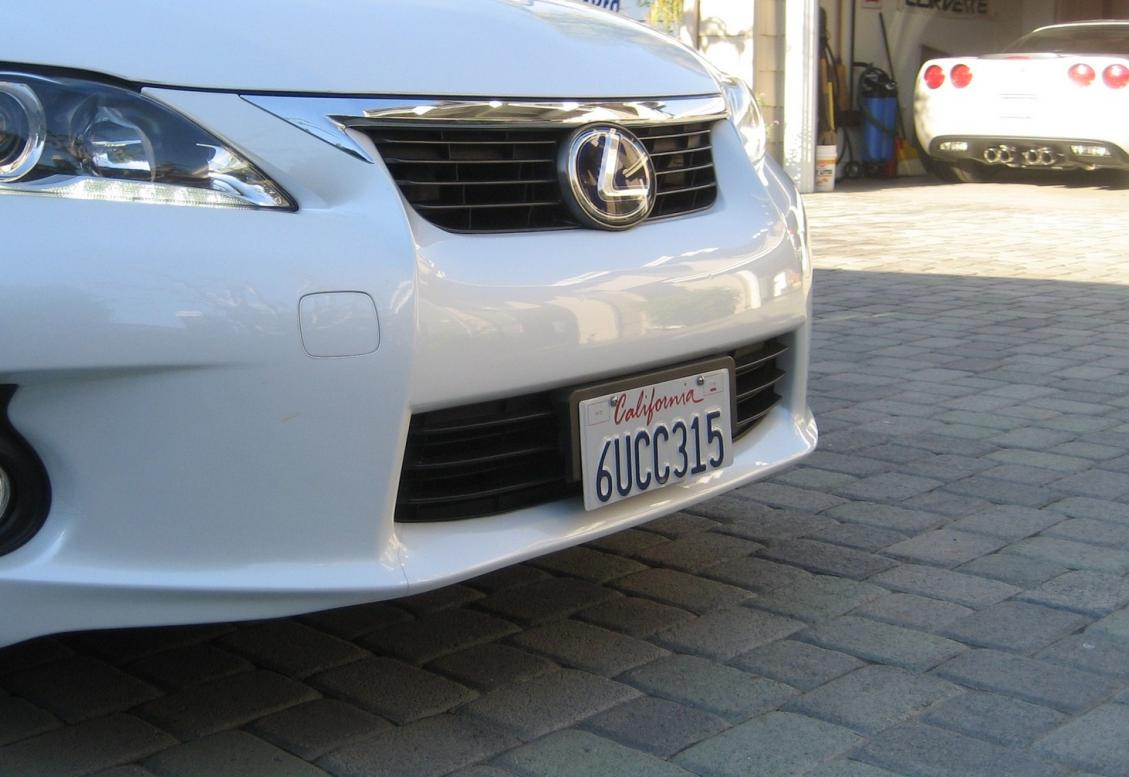 Installing A Front License Plate On A 2015 Honda Crv Html