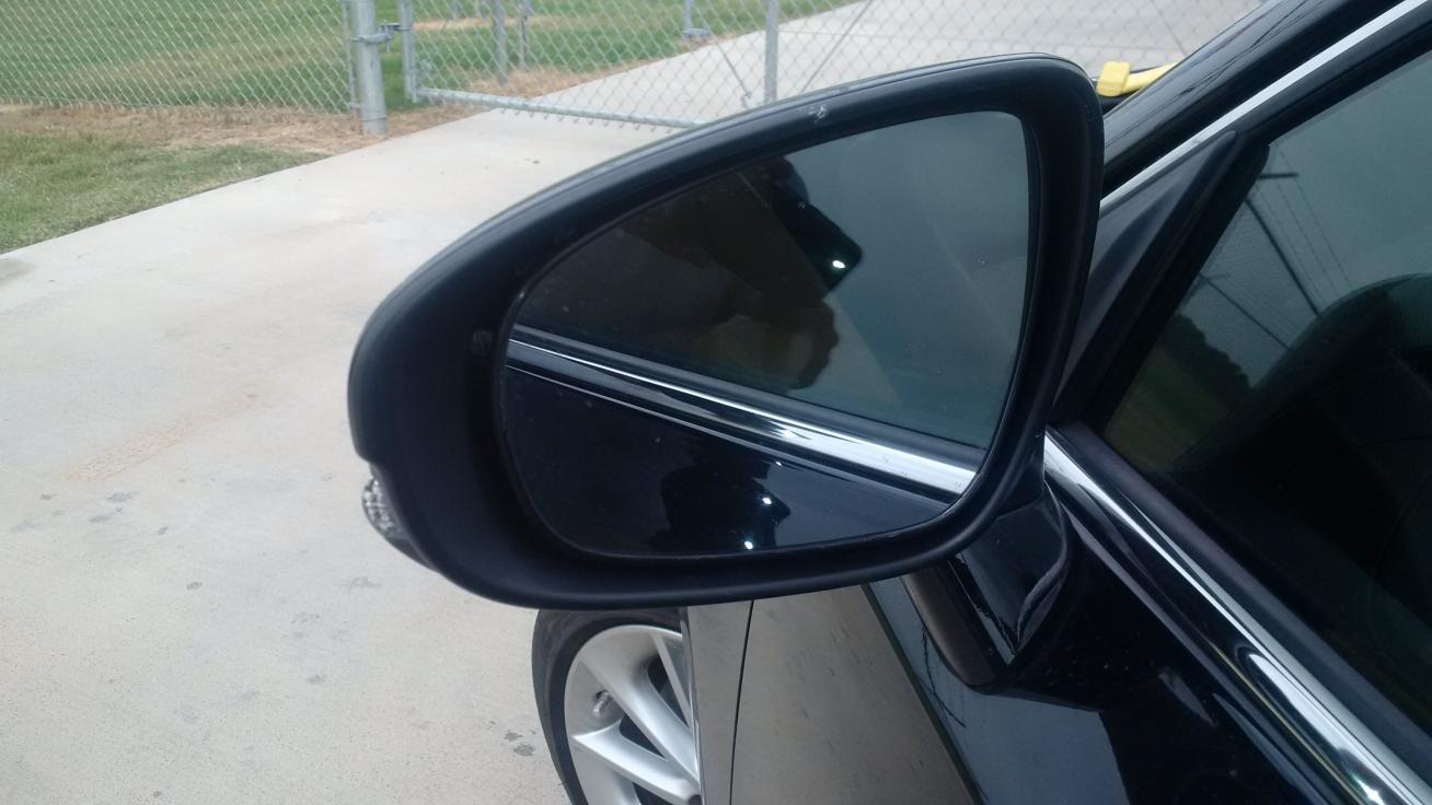 How to install led under side mirror puddle lights for Mirror installation