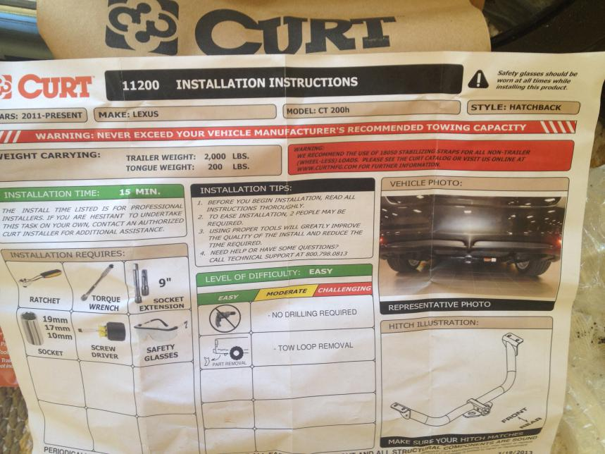 Will Curt hitch receiver 112002 work on 2014 ct200h?-img_2327.jpg