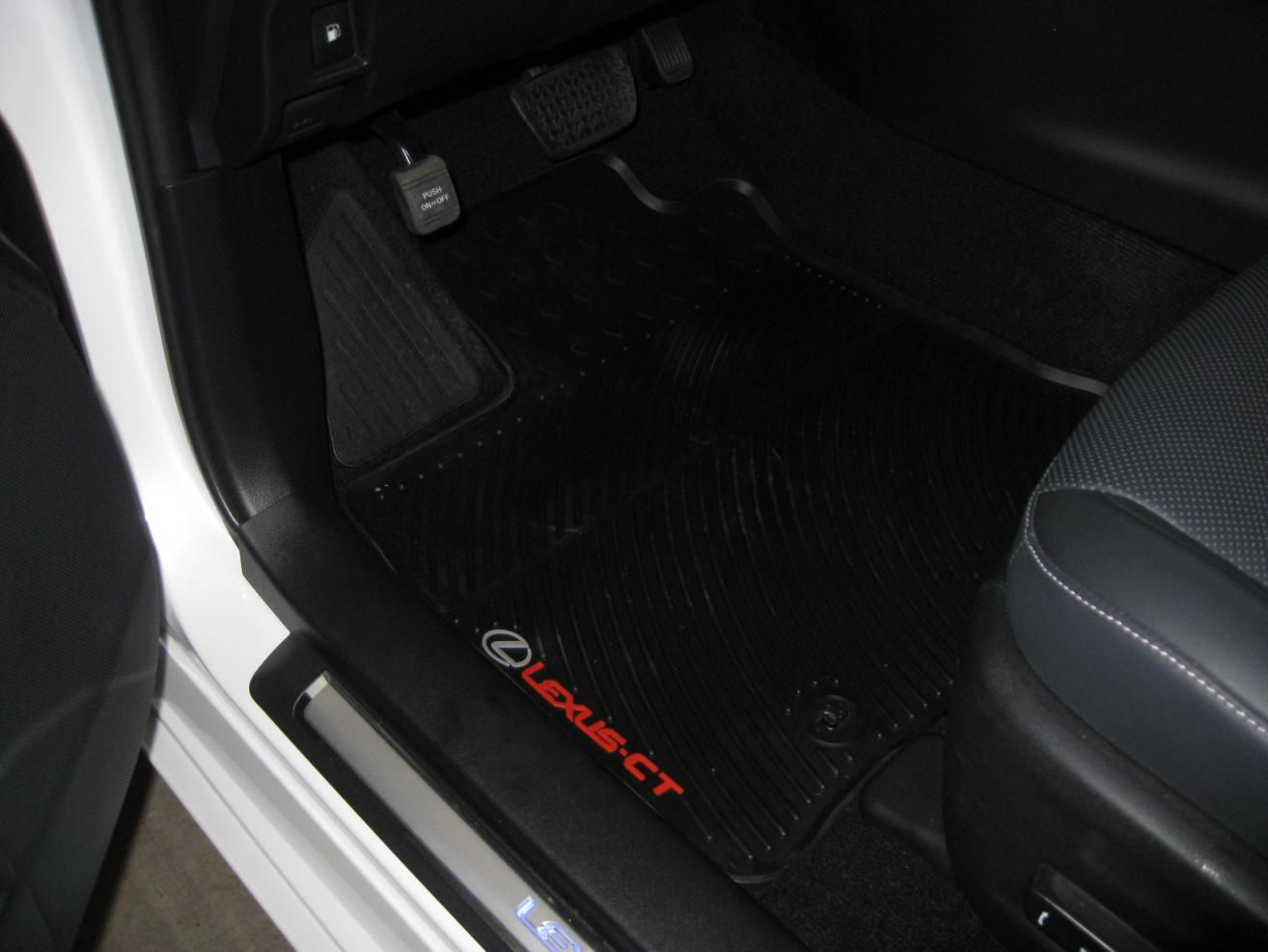 Rubber floor mats lexus rx330 - All Weather Floor Mats Img_2756 Jpg