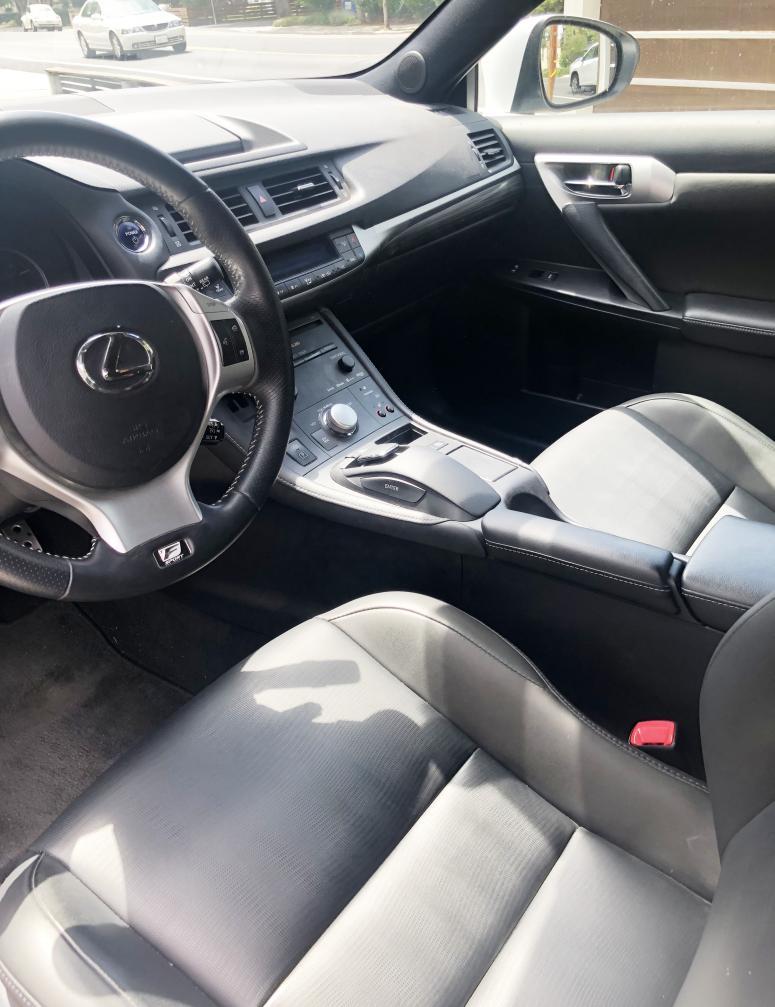 2013 lexus ct200h F Sport (low miles) - 000, BAY AREA CA-interior2.jpg
