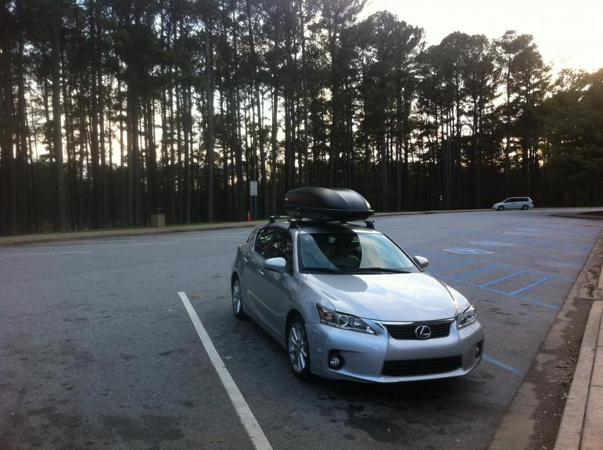 Lexus Ct200h Used >> Roof Rack with Pictures - Page 2