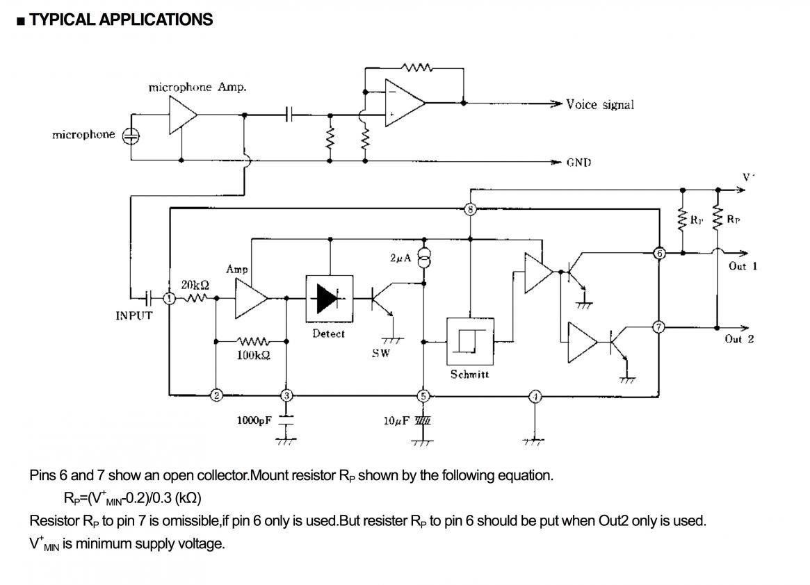 Questions About Audio Detection Circuit Wireless Microphone Audiocircuit Ptqkh