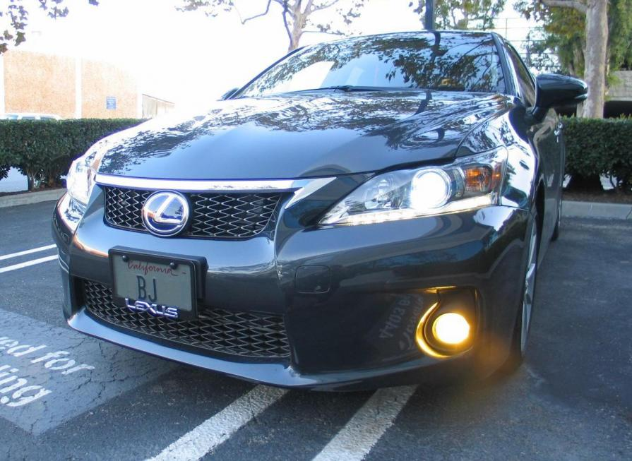 Same Lexus Emblem With F Sport Grill Smoky Granite Ct200h 22