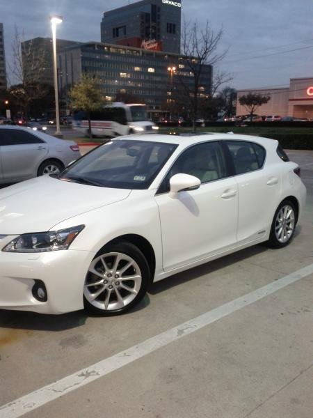 Showcase cover image for chris77351's 2012 Lexus CT 200