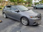 2016 Lexus CT200h Nebula Grey Pearl Tints & spacers